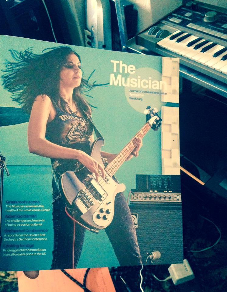 Press & Comments   Becky Baldwin Bass - Professional Bassist