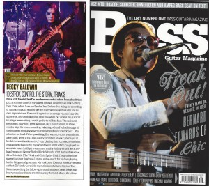 Bass Guitar Magazine Feature April 2016