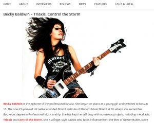 Rustyn Rose, Metalholic.com